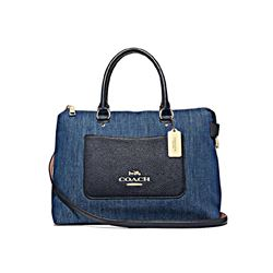 Denim Emma Satchel