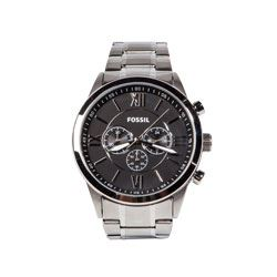 Fossil - Silver and black watch