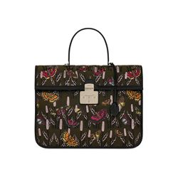 Furla Fenice XL Top Handle in Toni Salvia