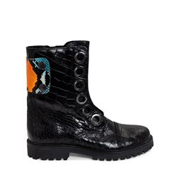 Zadig et Voltaire Joe Crok Patch boots