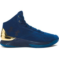 Curry 1 LUX Mid Suede