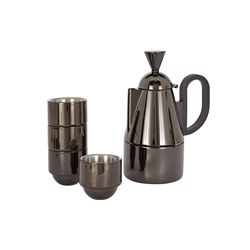 Tom Dixon   Brew stove top giftset black from Bicester Village