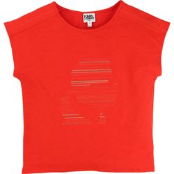 Karl Lagerfeld Red T-Shirt