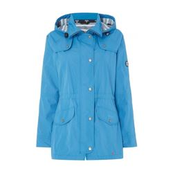 Barbour Ladies Trevose waterproof breathable jacket in powder blue