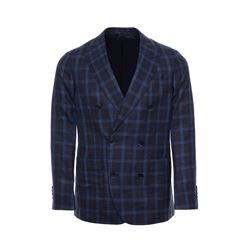 Hackett  Men's blue check jacket from Bicester Village