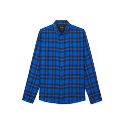 The Kooples, Men's blue checked shirt