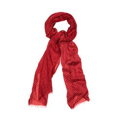 Hackett  Small dot red scarf from Bicester Village