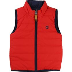 Timberland Red/Navy Reversible Gilet
