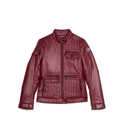 Women's burgundy jacket