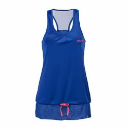 Ladies' high summer vest top