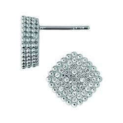 Links of London Pure collection square earrings