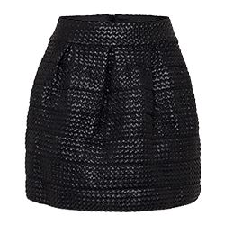 Replay - Black skirt WR with side zip