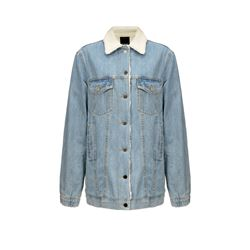 Jean jacket with wool