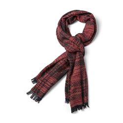 Scarf in black and red by Baldessarini at Ingolstadt Village