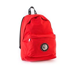Versace red backpack