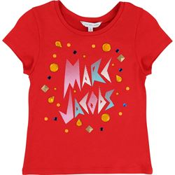 Little Marc Jacobs Red T-Shirt with design