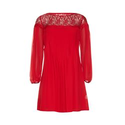 The Kooples  Red chiffon dress from Bicester Village