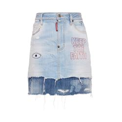 Dsquared2  Stretch denim skirt from Bicester Village
