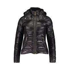Black Megreve Padded Jacket