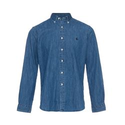 Polo Ralph Lauren Men's Blue Chambray Shirt