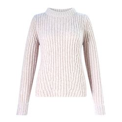 Jigsaw Ribbed knit sweater in beige