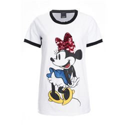 White Minnie T-shirt