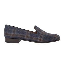 BOW Tie - Simpson plaid wool shoes