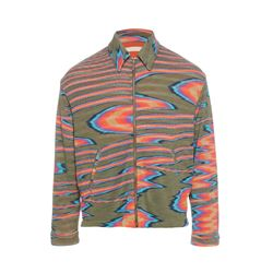 Patterned blouson