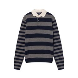 Hackett Striped Rugby Shirt