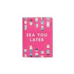 Pink Sofia passport case
