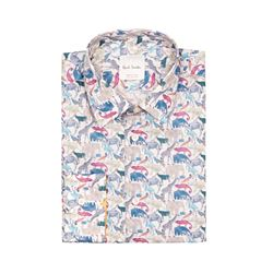 Paul Smith  Animal print shirt from Bicester Village