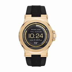 Watch Station Michael Kors Access Dylan gold tone silicone smartwatch