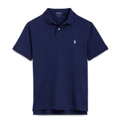 Men's polo shirt in blue by Polo Ralph Lauren at Ingolstadt Village