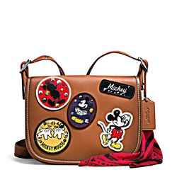 Women's bag 'Mickey Patches Patricia' in brown by Coach at Ingolstadt Village