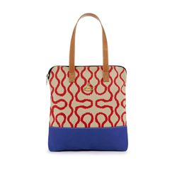 Vivienne Westwood  Squiggle men shopper from Bicester Village
