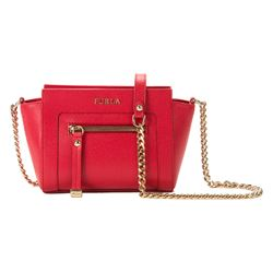 Ginevra Mini Crossbody W/Zip Saffiano