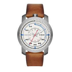 Diesel men's watch in brown by Watch Station International at Wertheim Village
