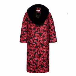 Louise Kennedy Harlow floral embossed coat