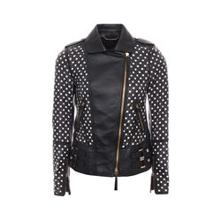 Roberto Cavalli BLACK  Leather jacket from Bicester Village