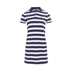 Polo Ralph Lauren newport navy/ white striped lucy dress