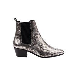 Ankle Boot Silver Maje