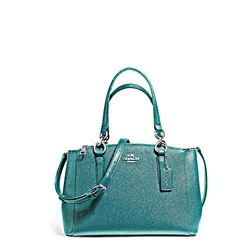 Coach Teal Mini Christie Carryall
