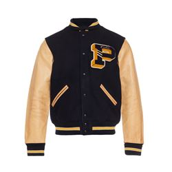 Polo Ralph Lauren Men's Navy/New Ghurka Letterman Jacket