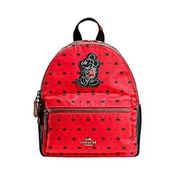 Mickey Nylon Bandana Print Charlie Backpack