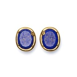 Blue earrings