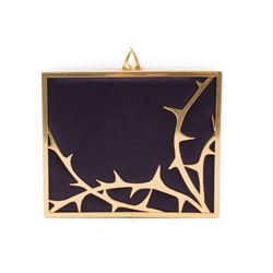 Lulu Guinness thorn clutch