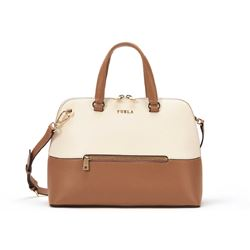 Furla cappuccino b + petalo alex medium dome