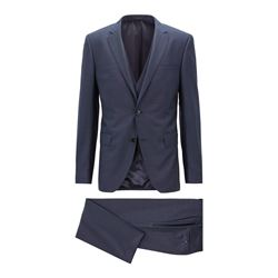Hugo Boss Men's Navy Genius3 Suit