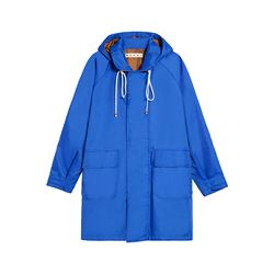 Marni  Long blue jacket from Bicester Village