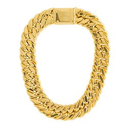 Aristocrazy - Collar barbado de oro
